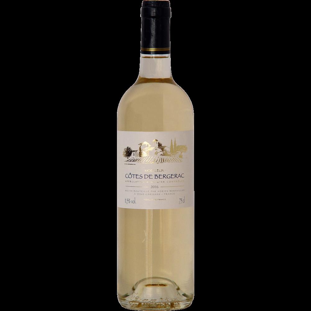Côtes de Bergerac AOP moelleux Adrien Bertaillan 2018 (75 cl)