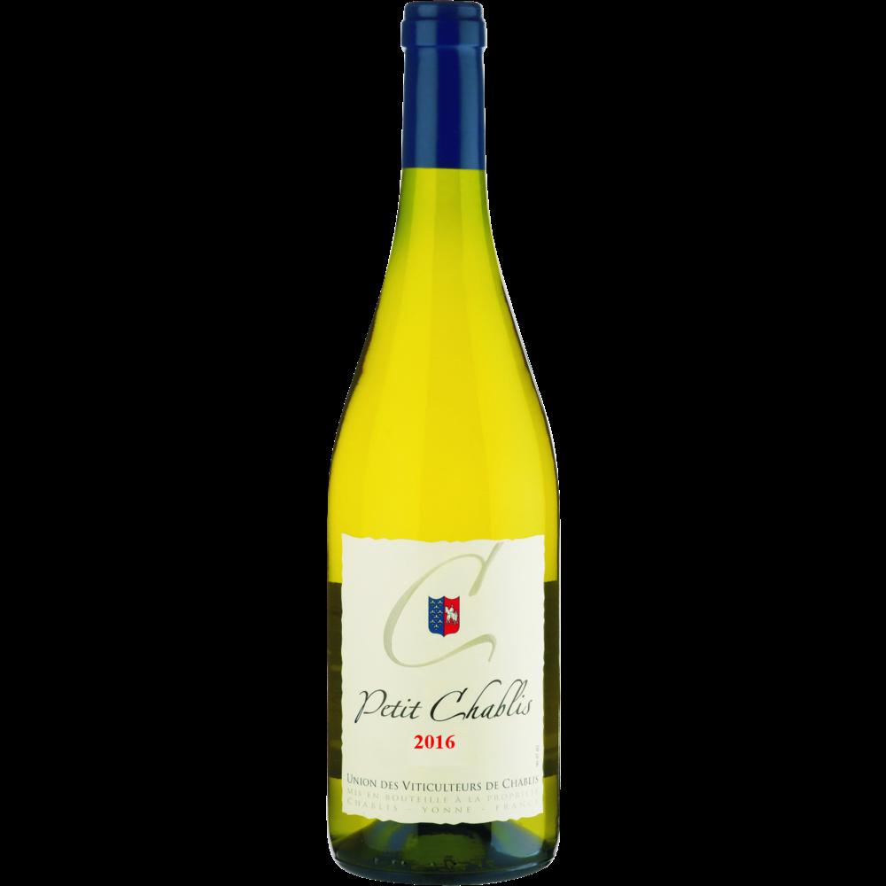 Vin blanc AOP Petit Chablis Union Viticulteurs (75 cl)