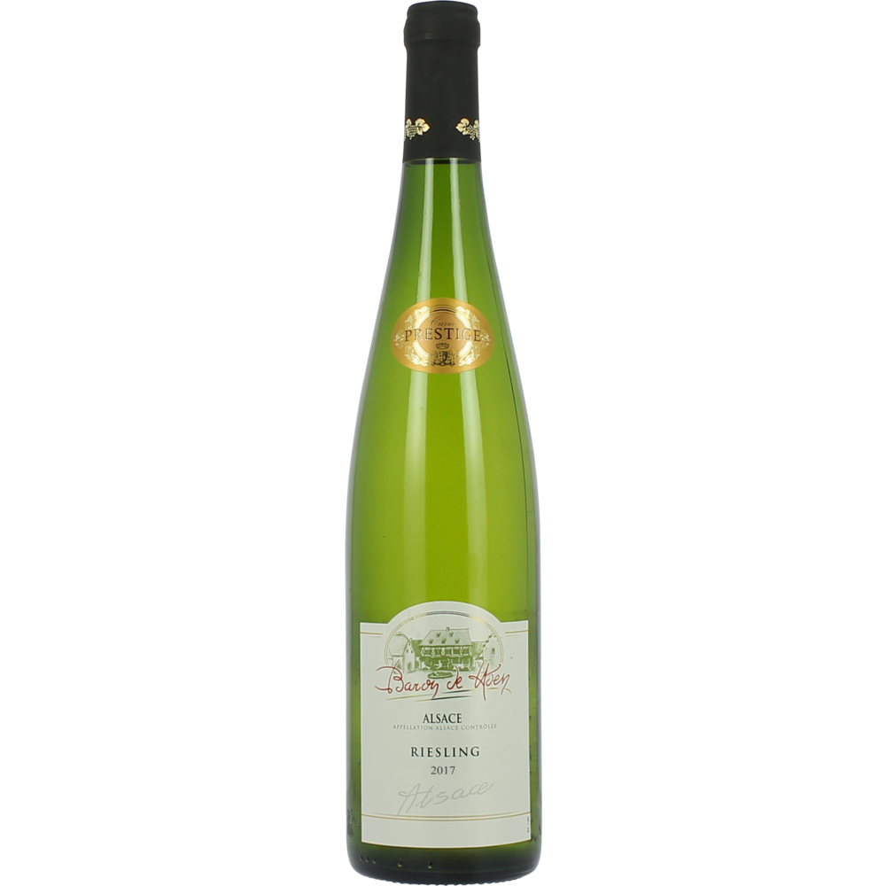 Riesling blanc d'Alsace AOC cuvée prestige Baron de Hoen 2018 (75 cl)
