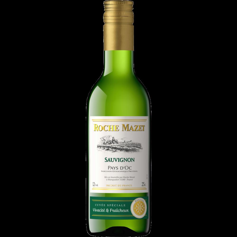 Vin blanc de pays d'Oc Sauvignon, Roche Mazet (25 cl)
