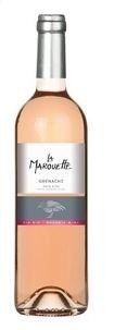 Vin rosé Grenache Pays d'Oc IGP, BIO La Marouette (75 cl)