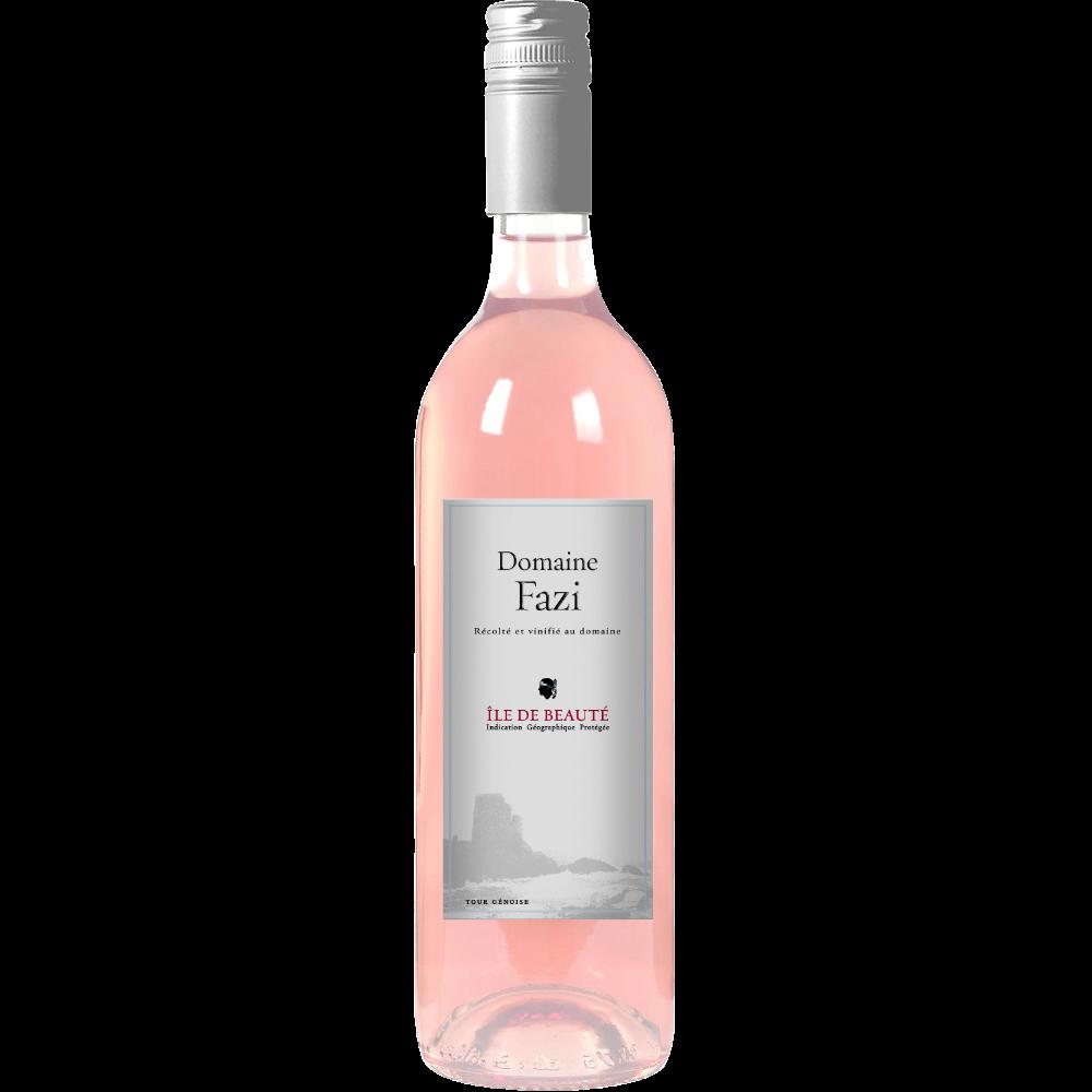 Vin rosé IGP Ile de Beauté domaine Fazi (75 cl)