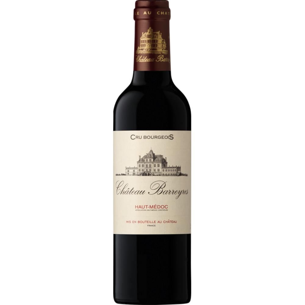 Haut Médoc AOC cru bourgeois Chateau Barreyres 2017 (37.5 cl)