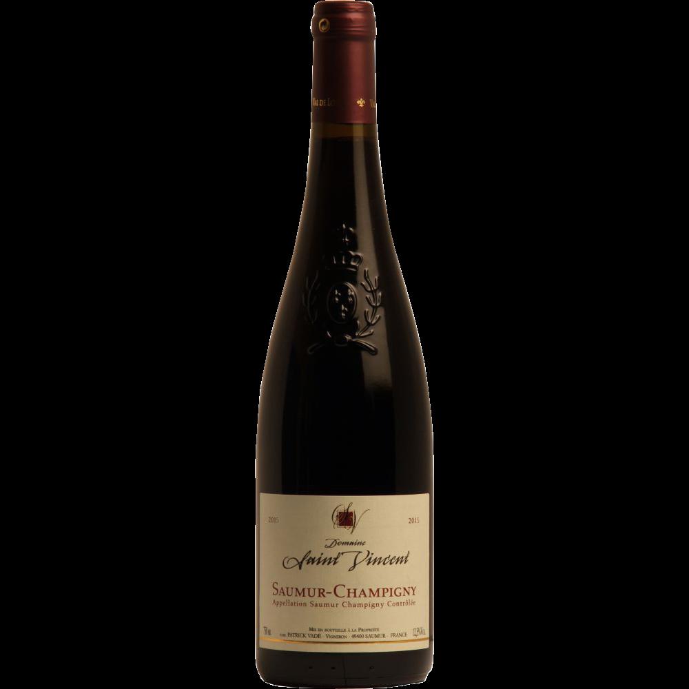 Saumur Champigny AOP domaine Saint Vincent 2018 (75 cl)