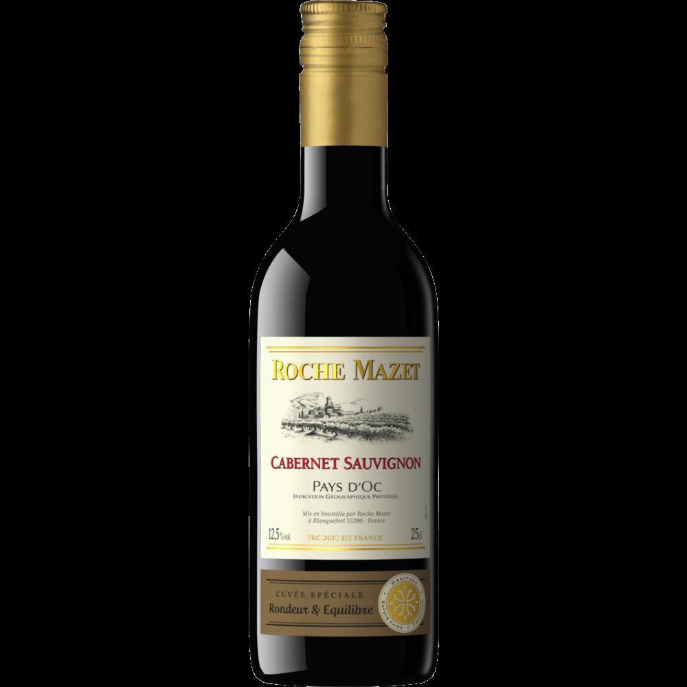 Vin rouge de Pays d'Oc Cabernet Sauvignon, Roche Mazet (25 cl)