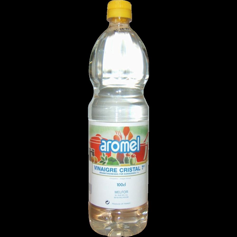 Vinaigre blanc cristal Aromel, Melfor (1 L)