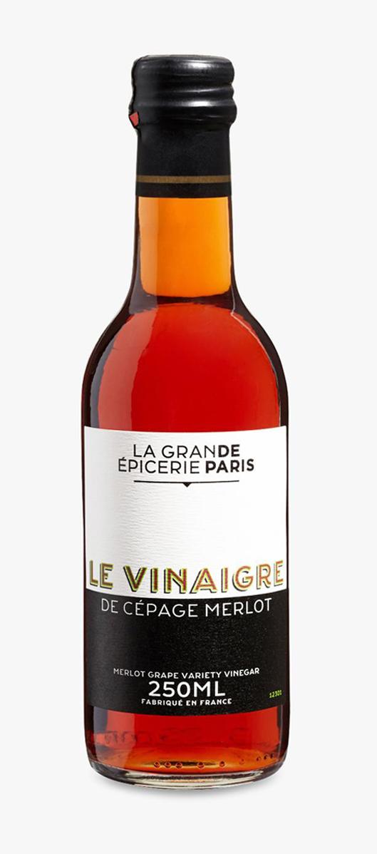 Vinaigre de vin rouge cépage Merlot, La Grande Epicerie de Paris (25 cl)