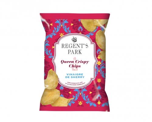 Chips au vinaigre de xérès Queen Crispy, Regent's Park (40 g)