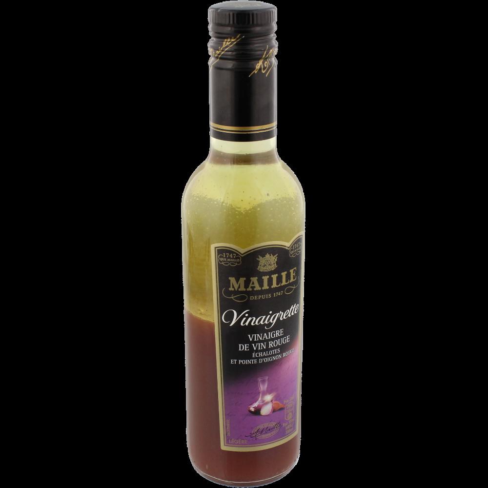 Vinaigrette au vin rouge échalote et petits oignons rouge, Maille (36 cl)