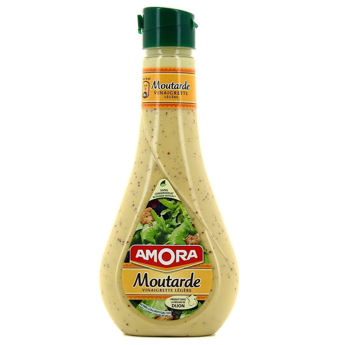 Vinaigrette moutarde, Amora (450 ml)