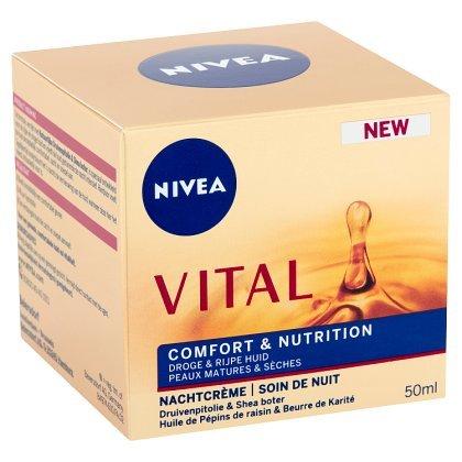 Soin de nuit Vital confort + nutrition, Nivea (50 ml)