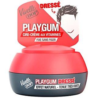 Pot de cire Playgum dressé, Vivelle Dop (80 ml)