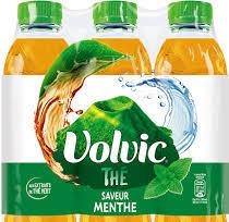Volvic infusion Thé vert Menthe (6 x 1 L)