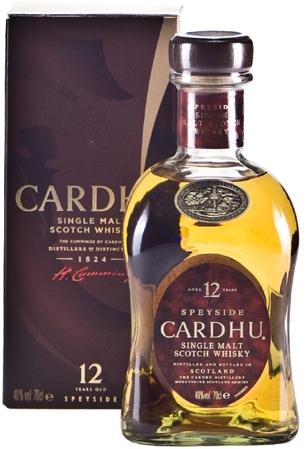 Whisky Cardhu 12 ans d'âge (70 cl)