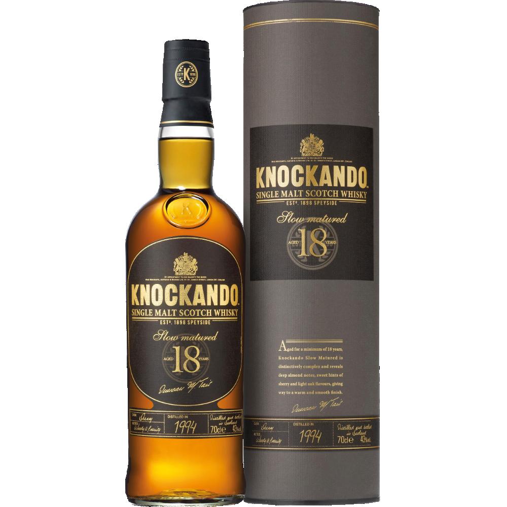Whisky Knockando 18 ans d'âge (70 cl)