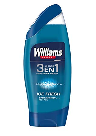 Gel douche Ice Fresh 3 en 1, Williams (250 ml)
