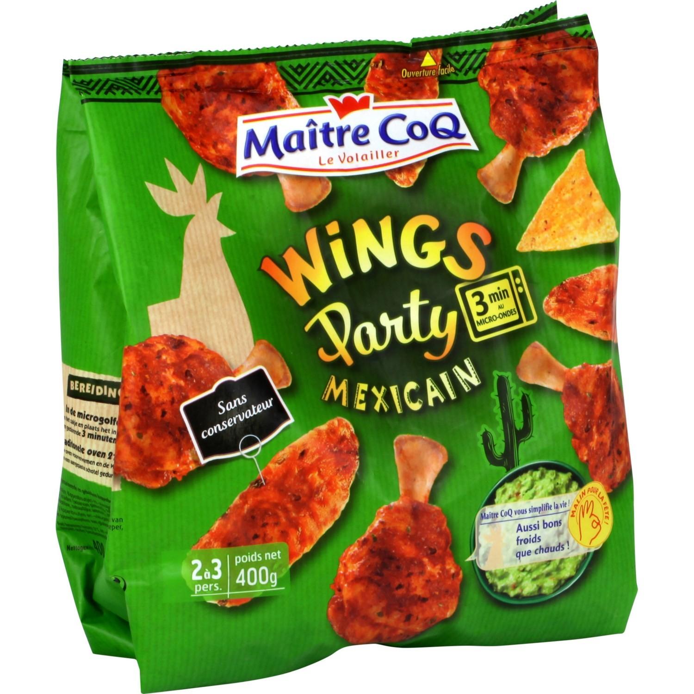 Wings Party à la mexicaine, Maître Coq (400 g)