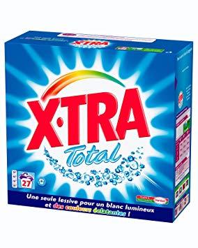 Lessive en poudre 25 doses, X'tra (1,375 Kg)