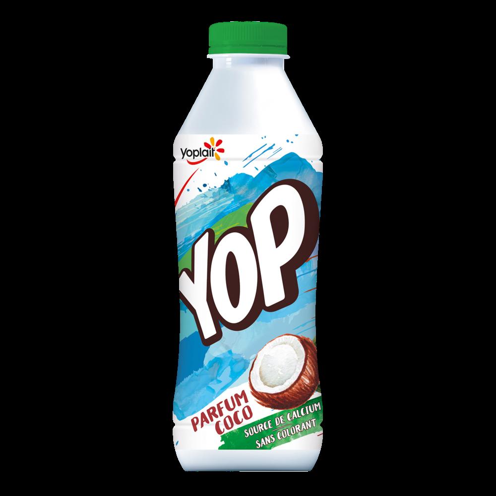 Yaourt à boire coco, Yop (825 g)