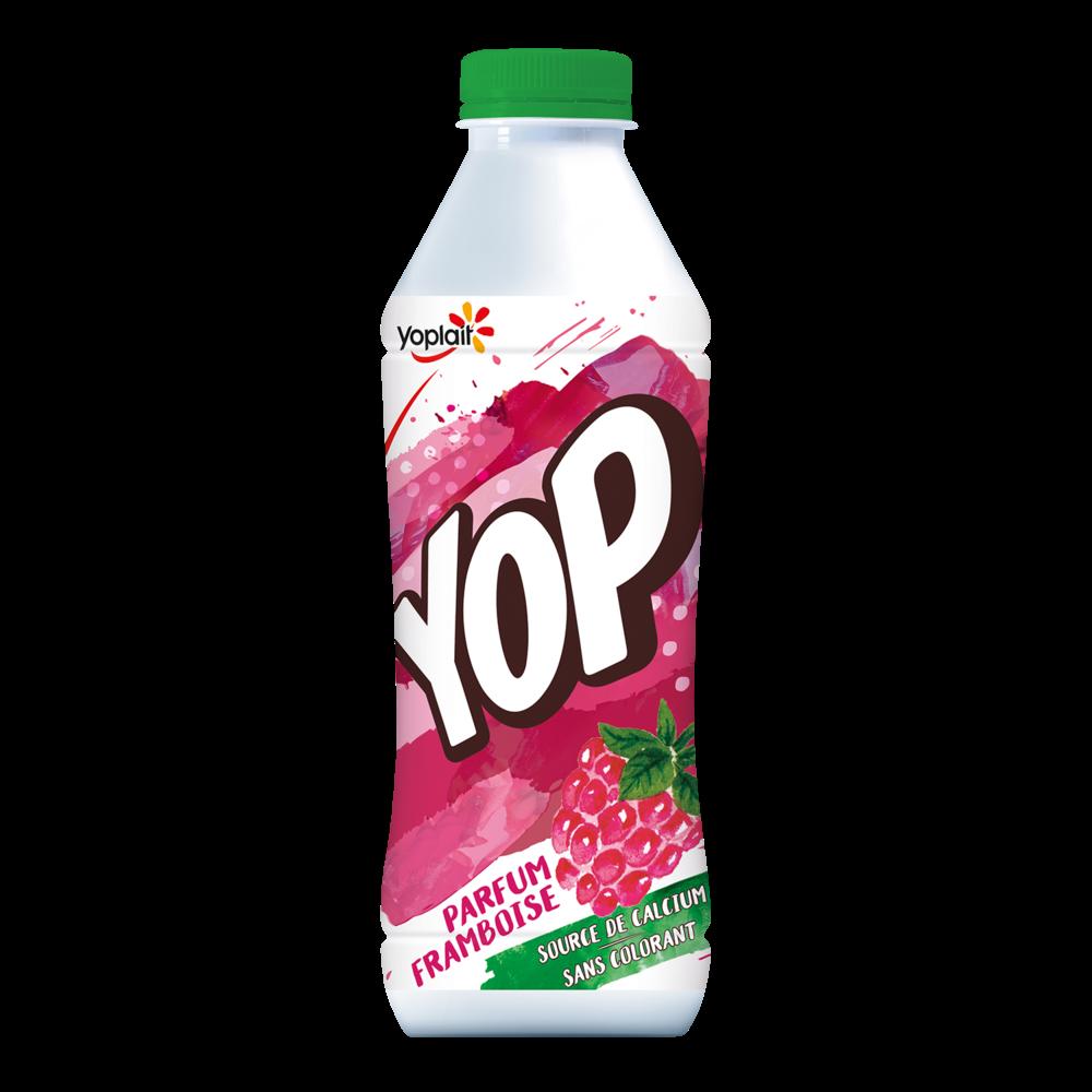 Yaourt à boire framboise, Yop (825 g)