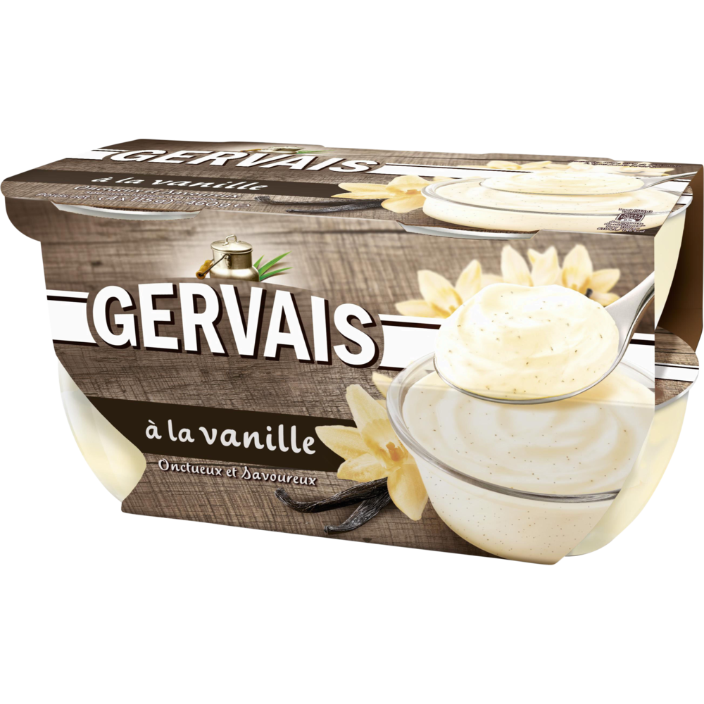 Yaourt à la vanille, Gervais (4 x 115 g)