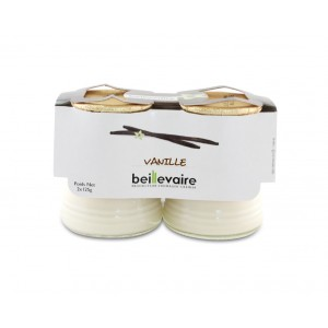 Yaourt à la Vanille, Beillevaire (2 x 125g)
