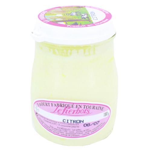 Yaourt au citron Fierbois (180 g)