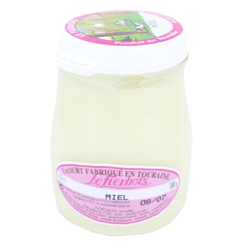 Yaourt au miel, Fierbois (180 g)