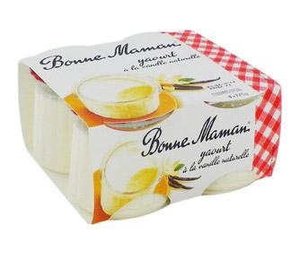 Yaourt à la vanille Bonne Maman (4 x 125 g)