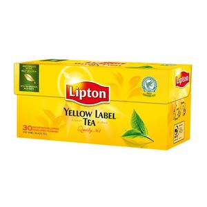 Thé noir Yellow Label, Lipton (30 sachets)